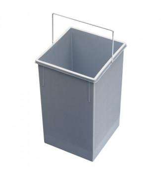 Bac 15L pour poubelle encastrable Hailo Multi-Box Duo L