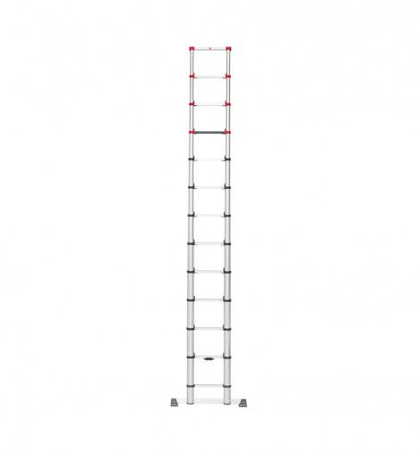 Echelle télescopique pliable 13 échelons 3m80 en alu Hailo Flexline