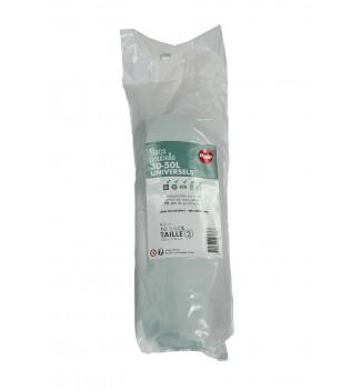 Pack de 10 rouleaux de 10 sacs poubelle universels 30 à 50L