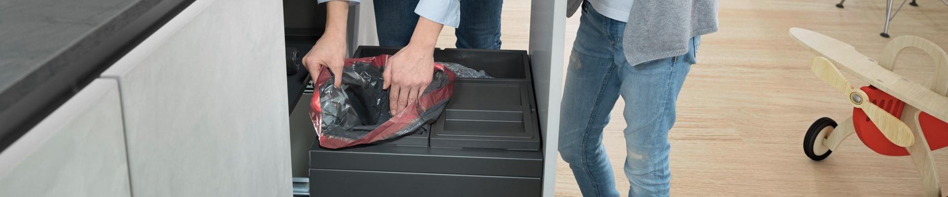 Accessoire poubelle : sacs poubelles, Hailo Libero   Hailo France