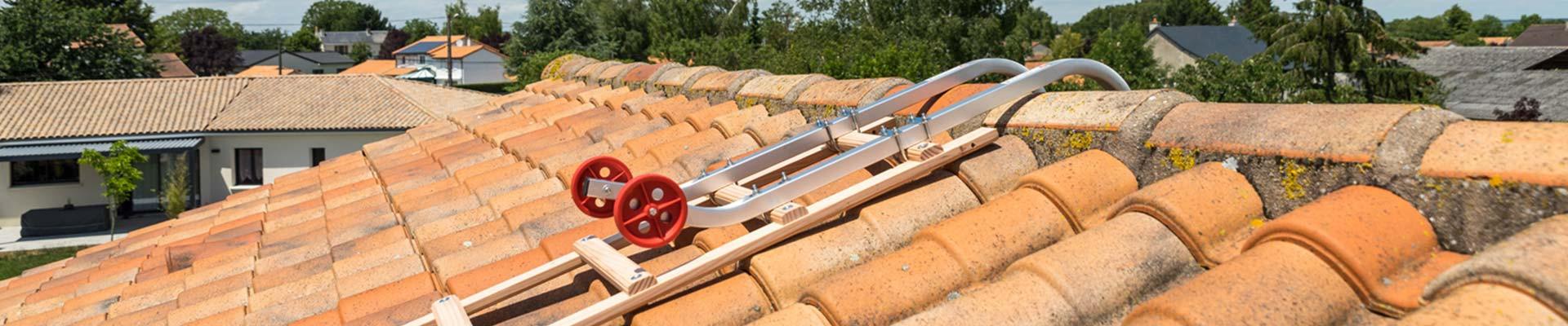 Echelle de toit en bois Hailo | Livraison Rapide à Domicile